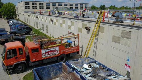 Matthews Roofing Chicago Safety