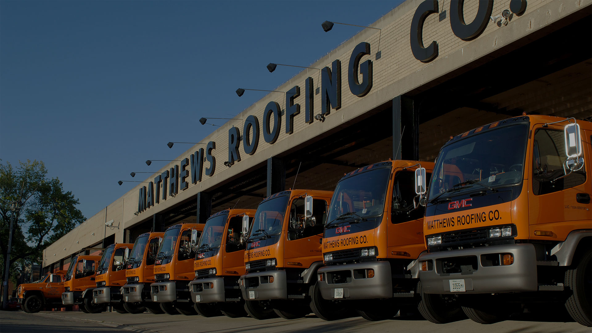 Matthew Roofing Chicago Fleet