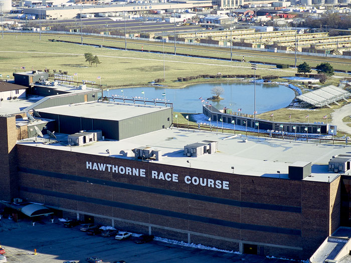 Matthews Roofing Chicago Project Hawthorne Race Track