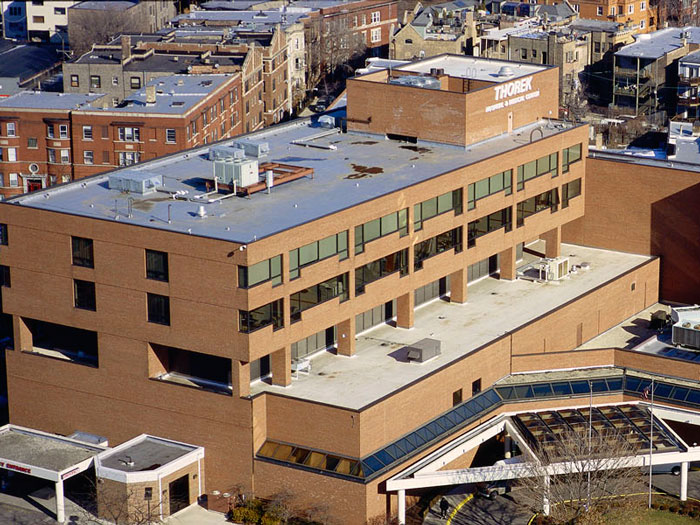 Matthews Roofing Chicago Project Thorek Hospital