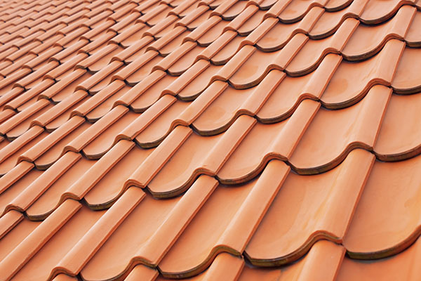Roofing Tiles Are Designed For Use As Overling Water Shedding Components That Rely On The Slope Of A Roof Substrate To Effectively Shed