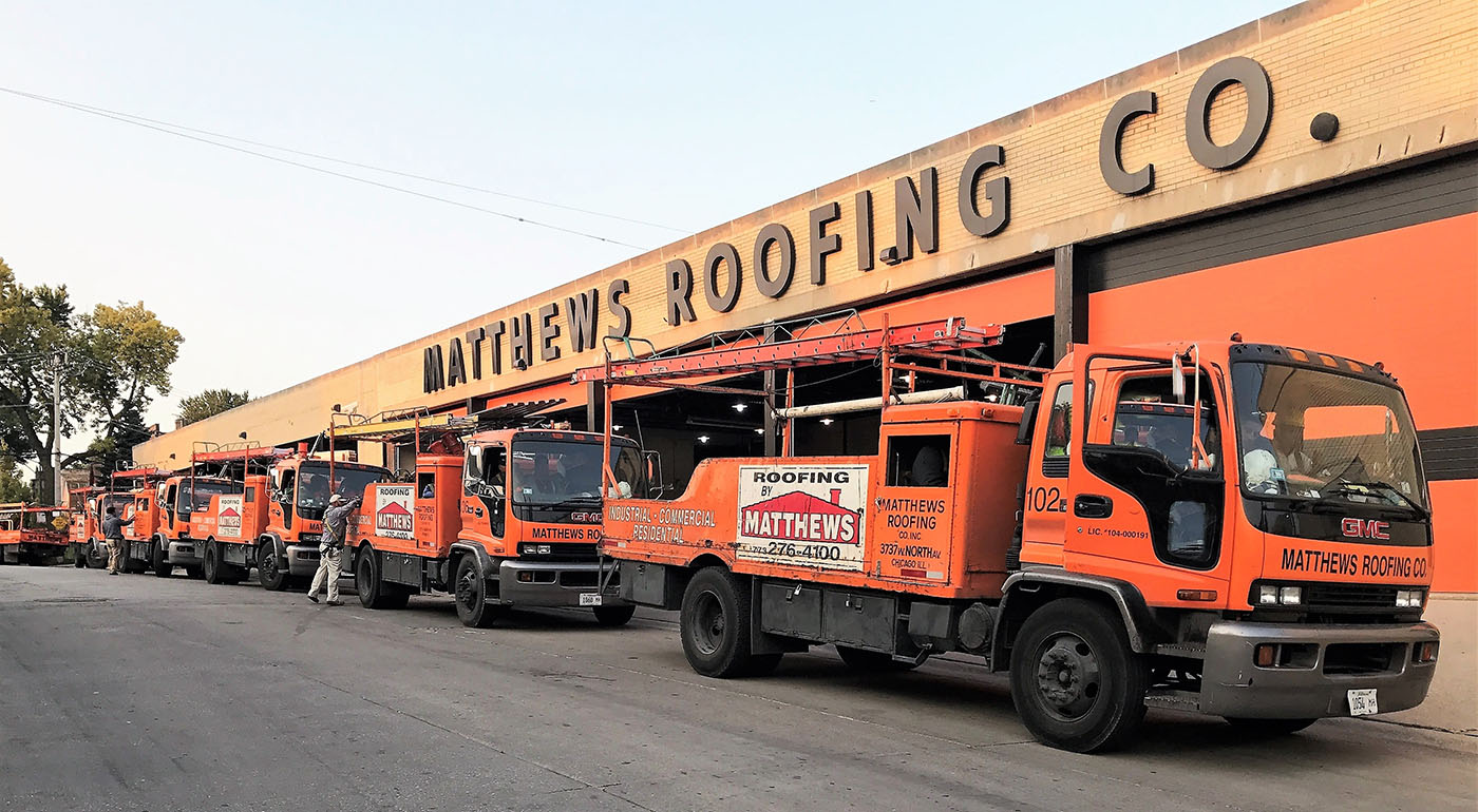 Matthews Roofing Chicago Preparation