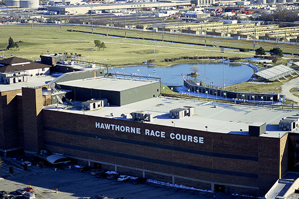 Matthews Roofing Chicago Hawthorne Race Track Project