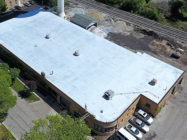 Matthews Roofing Chicago Modified Bitumen Roof