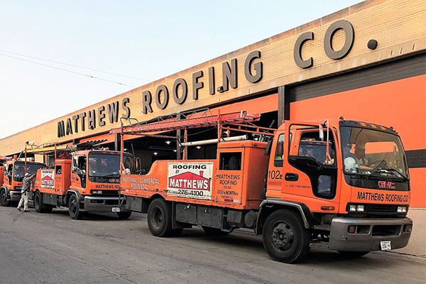 Matthews Roofing Chicago Professionals