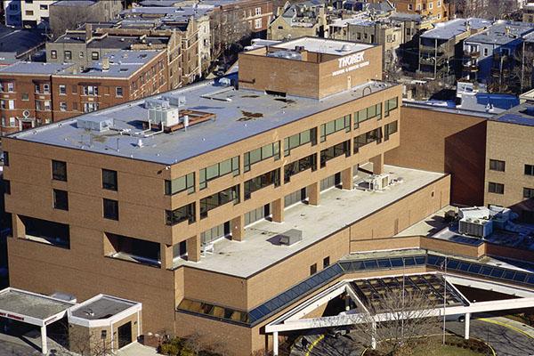 Matthews Roofing Chicago Thorek Hospital Project