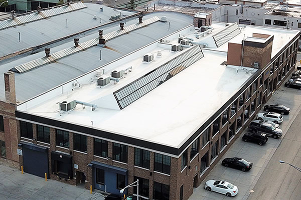 Matthews Roofing Chicago TPO Roofing System