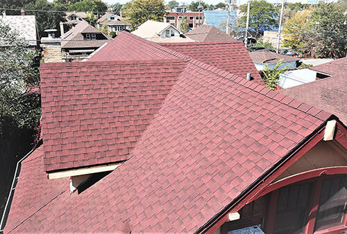 Matthews Roofing Chicago Steep Slope Asphalt Shingles
