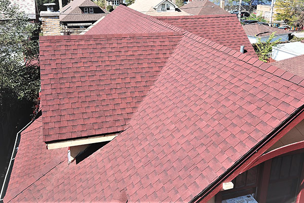 Matthews Roofing Chicago Steep Slope Asphalt Roofs