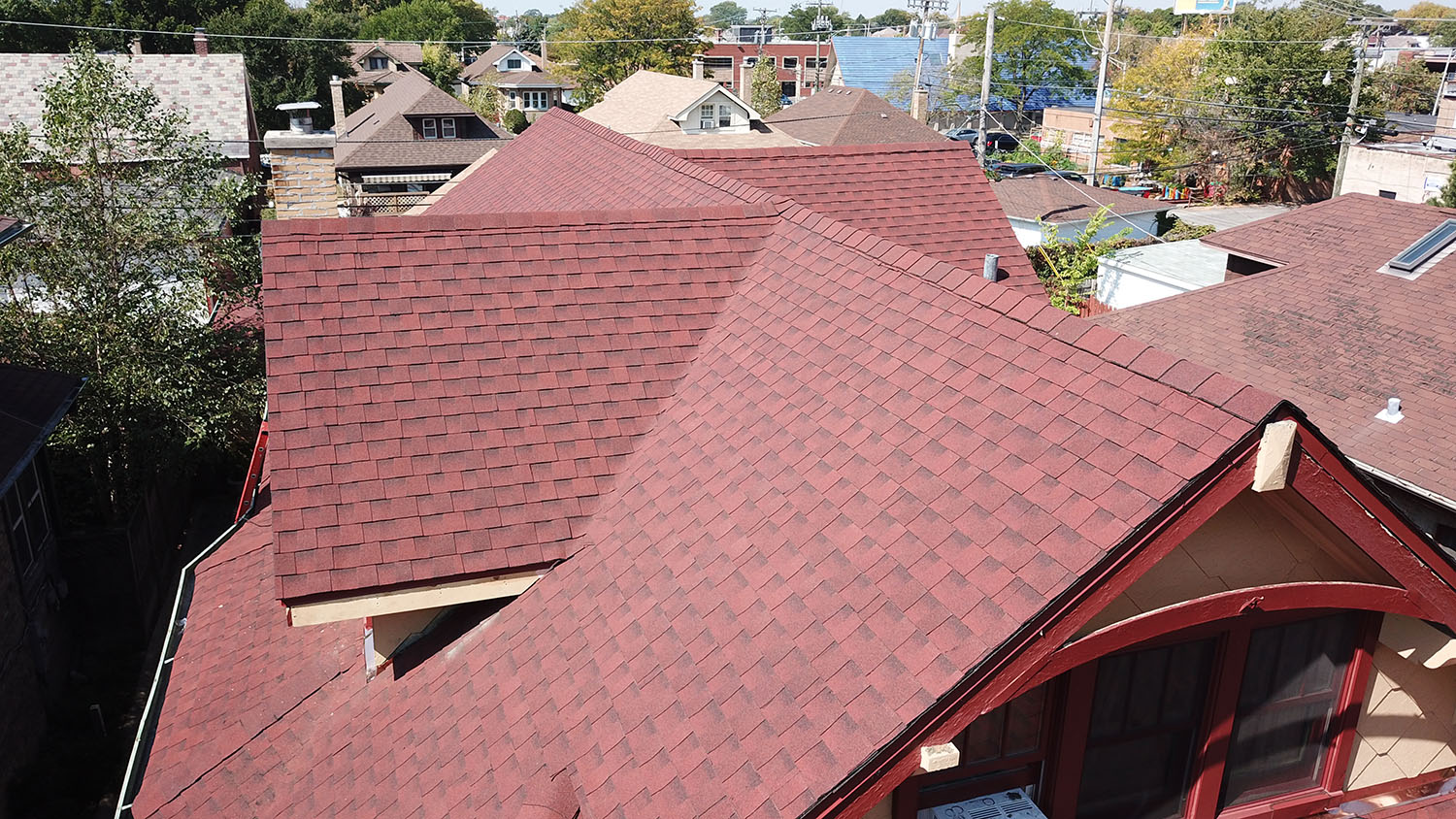 Matthews Roofing Redd Residence Project Roofing