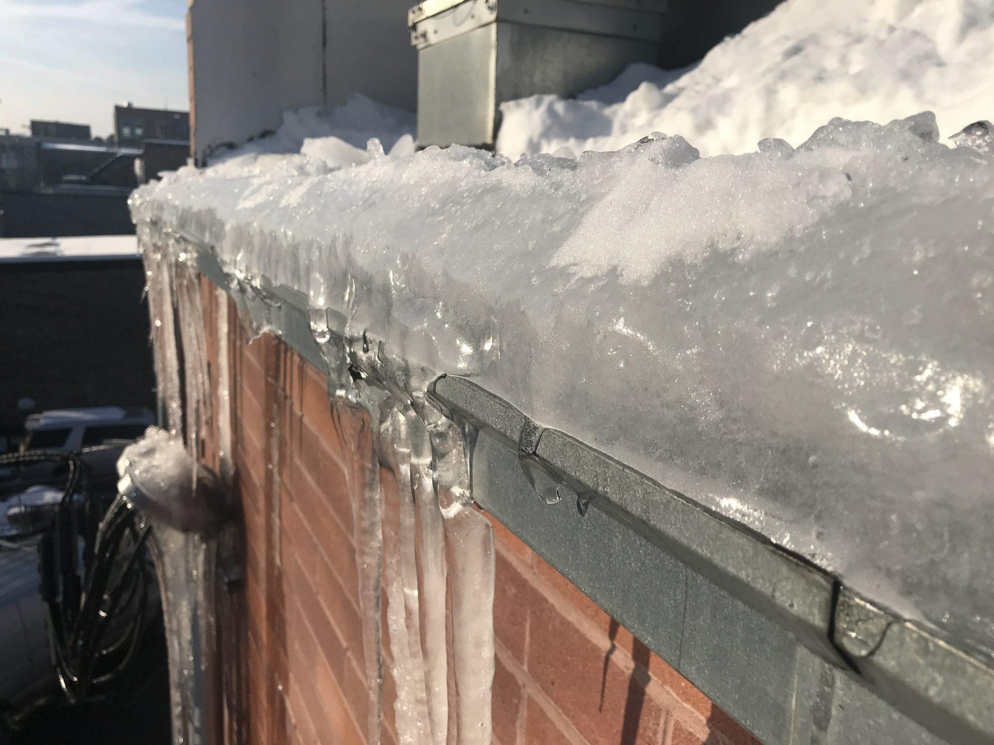Roof Ice Dam