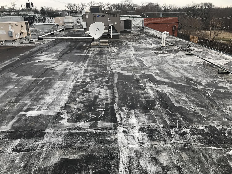 Aurora Strip Mall Project Matthews Roofing