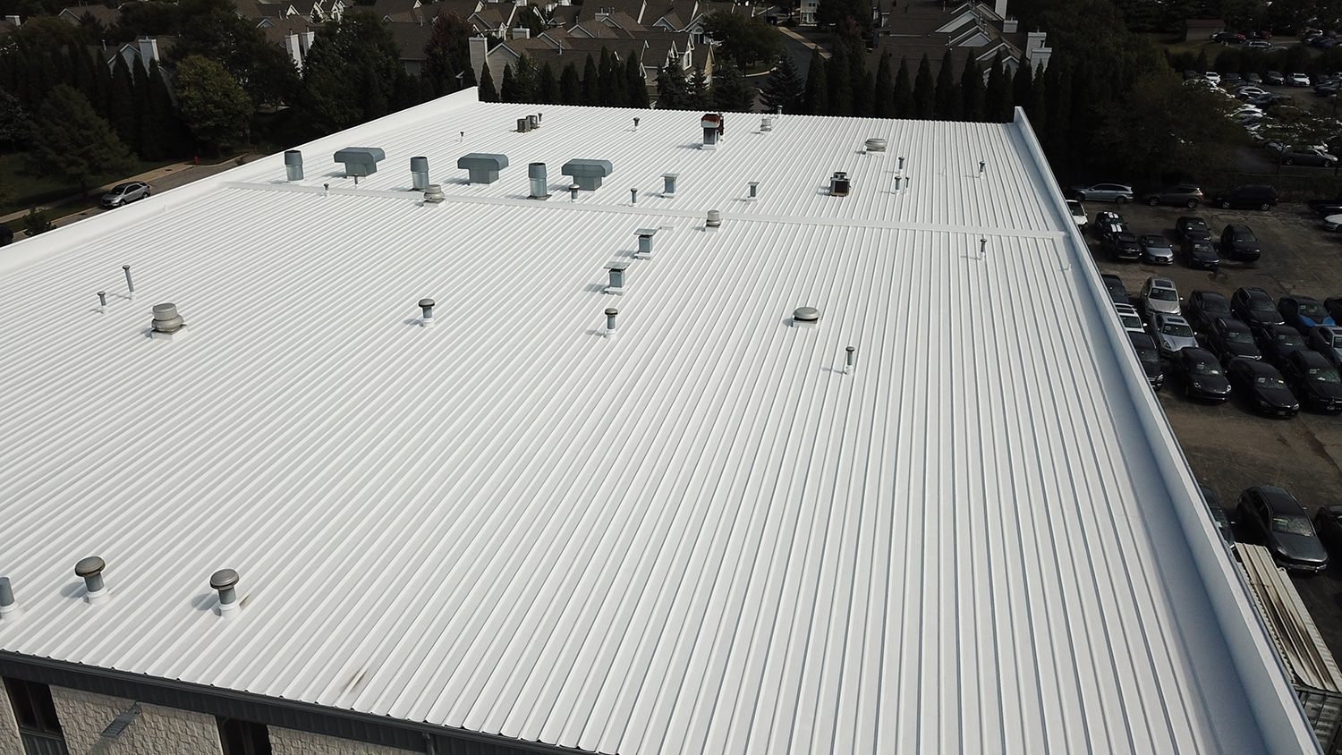Matthews Roofing - Auto Nation Project