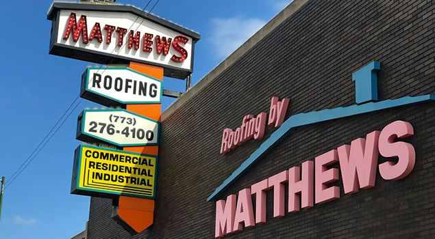 Matthews Roofing Chicago Office