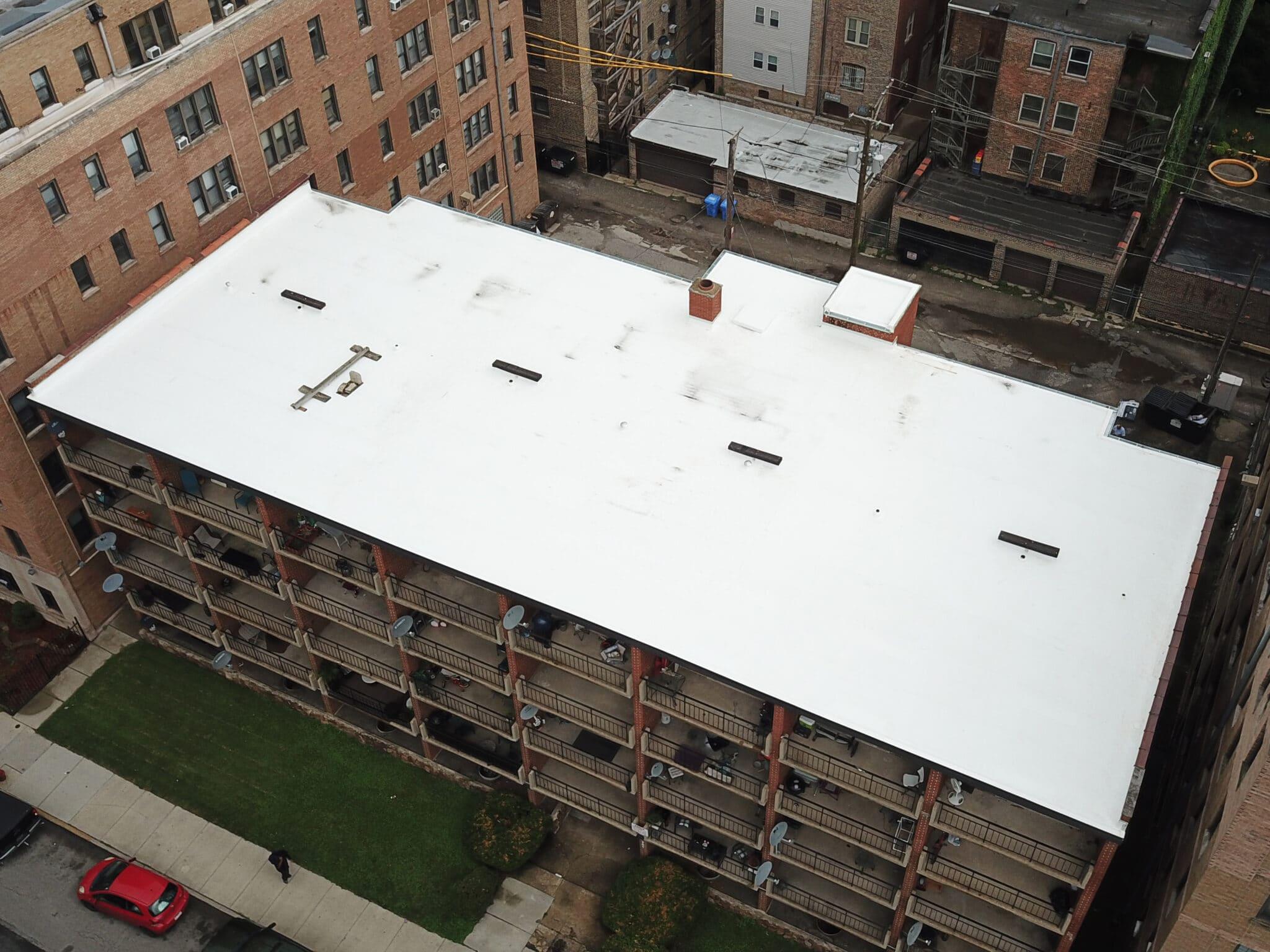 Jeffery TPO Roofing Project - Matthews Roofing