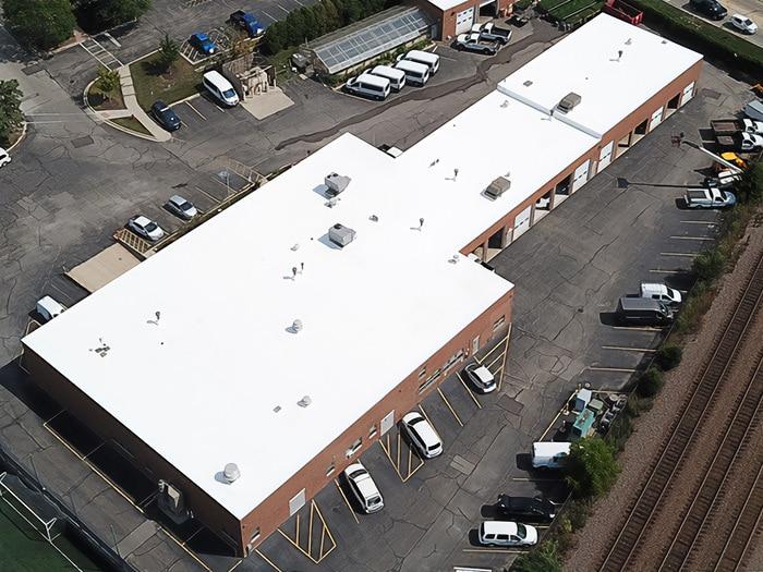 Wheaton College - Chase Service Center - GE Enduris Silicone Coating